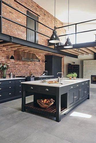 Modern Industrial Interior Design Kitchen Valoblogi Com