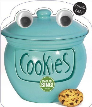 Cookie Jar Song Best Make Me Sing The Cookie Jar Song Birthday Sound Card  Cookie Jars