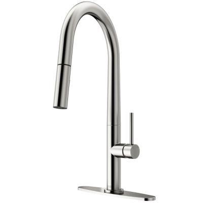 Vigo Greenwich Single Handle Pull Down Sprayer Kitchen Faucet With