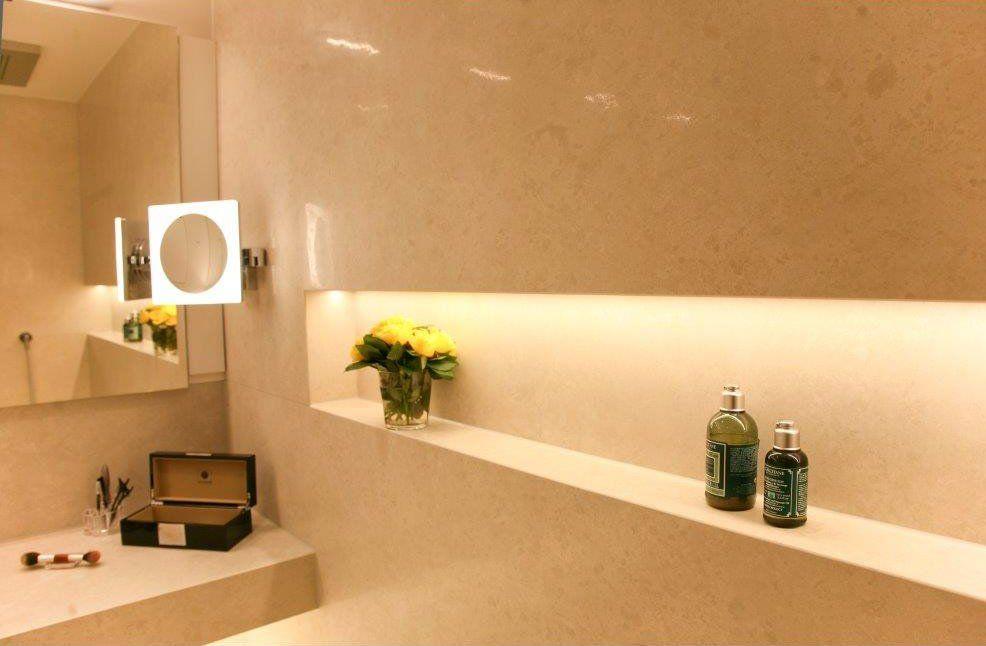 Heimwohl Badezimmer Fugenloses Bad Badezimmer Nischen Badezimmer