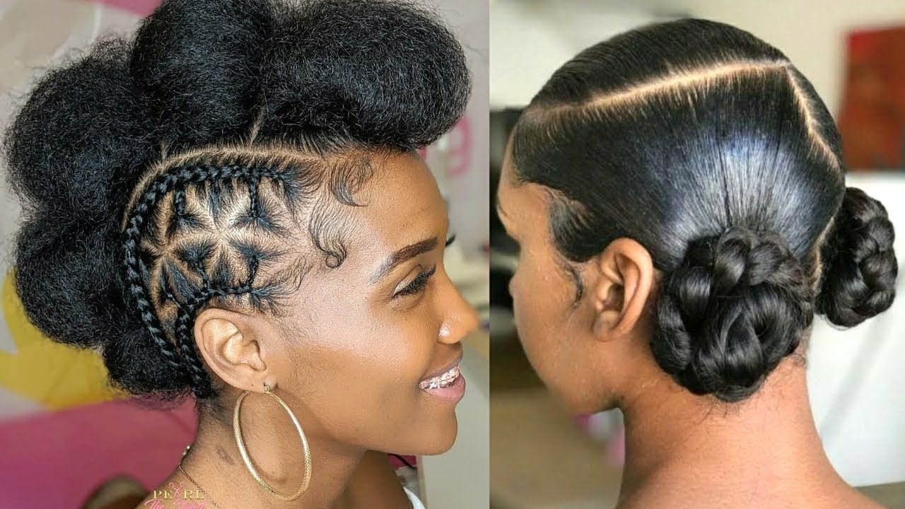 Quick Easy Natural Hairstyles For Black Women 2020 Protective Styles Compilation Natural Hair Styles Natural Hair Styles Easy Medium Natural Hair Styles
