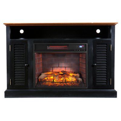 Southern Enterprises Antebellum Infrared Electric Media Fireplace - FI9305