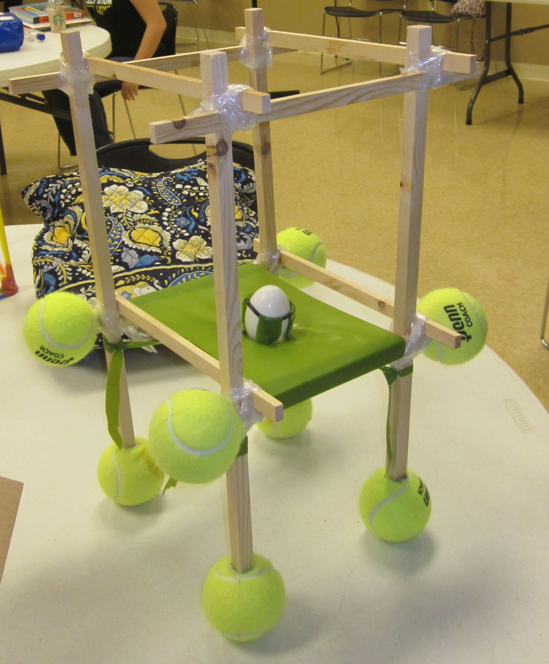 Bailey 39 s egg drop project for online high school physics course homeschooling high school for Physics planning and design experiments
