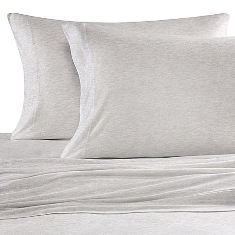 Pure Beech 100 Modal Jersey Knit Full Sheet Set In White