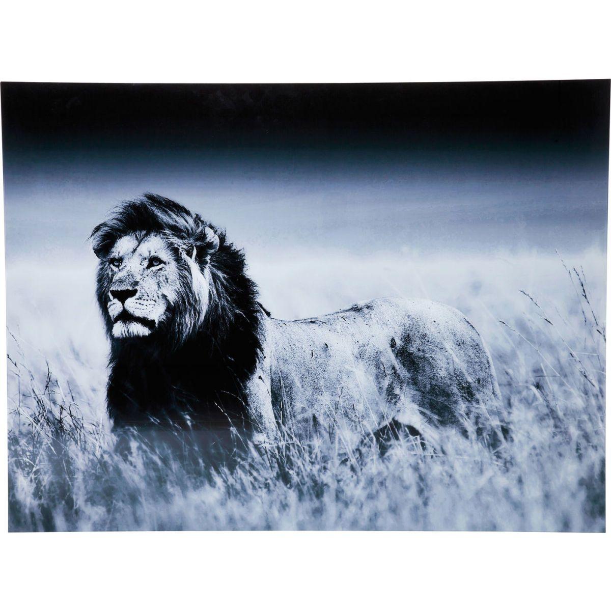 Bild Glas Lion King Standing 120x160cm Jetzt bestellen unter: https ...