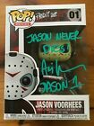 Ari Lehman signed autograph Jason Voorhees Funko Pop JSA COA Friday The 13th ID1 #FunkoPOP #jasonvoorhees