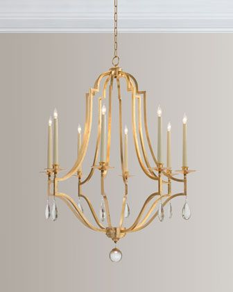 Goldleafcrystal8 horchowhn richard collection gold leaf shop gold leaf crystal chandelier from john richard collection at horchow where youll find new lower shipping on hundreds of home furnishings and gifts mozeypictures Gallery