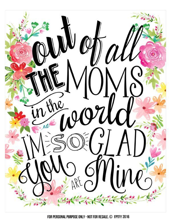 Creative Mothers Day Ts Tags And Wall Art Included