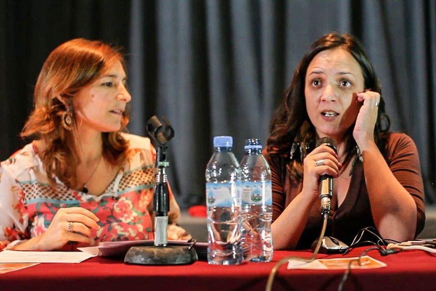 Gabriela Dorrego junto con Sabrina Abran de Vox Populi