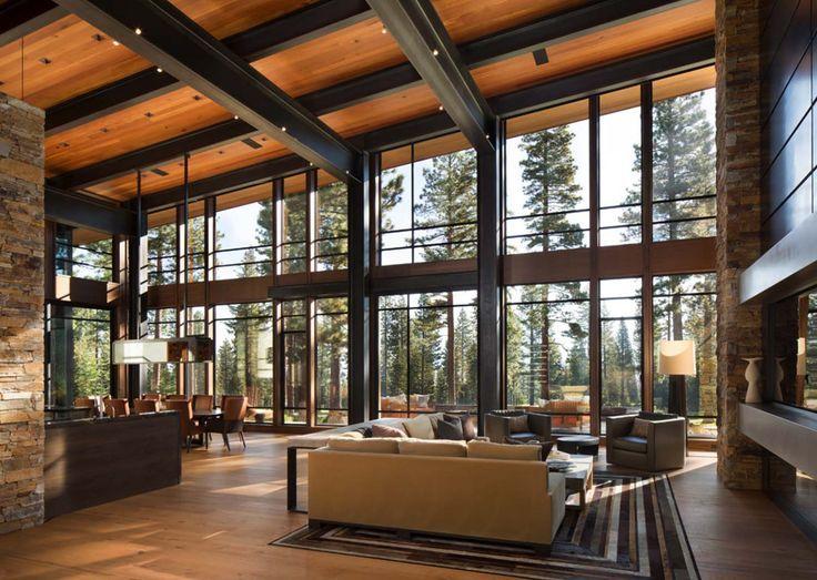 Fabulous Mountain Modern Retreat In The High Sierras Part 33