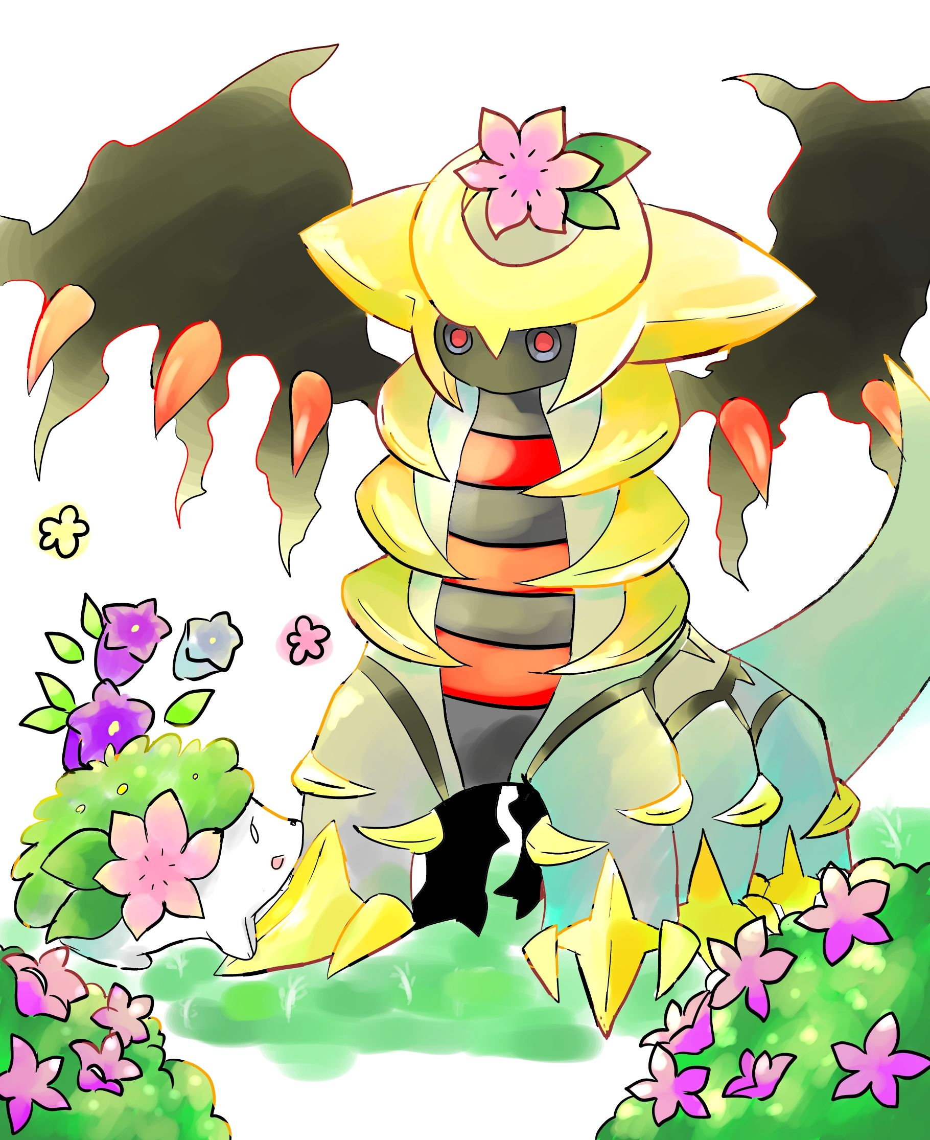 Giratina Shaymin Don T Forget To Like This Pokemon Facebook