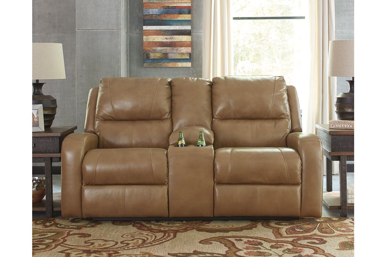 Amazing Roogan Reclining Loveseat With Console Products Recliner Gmtry Best Dining Table And Chair Ideas Images Gmtryco