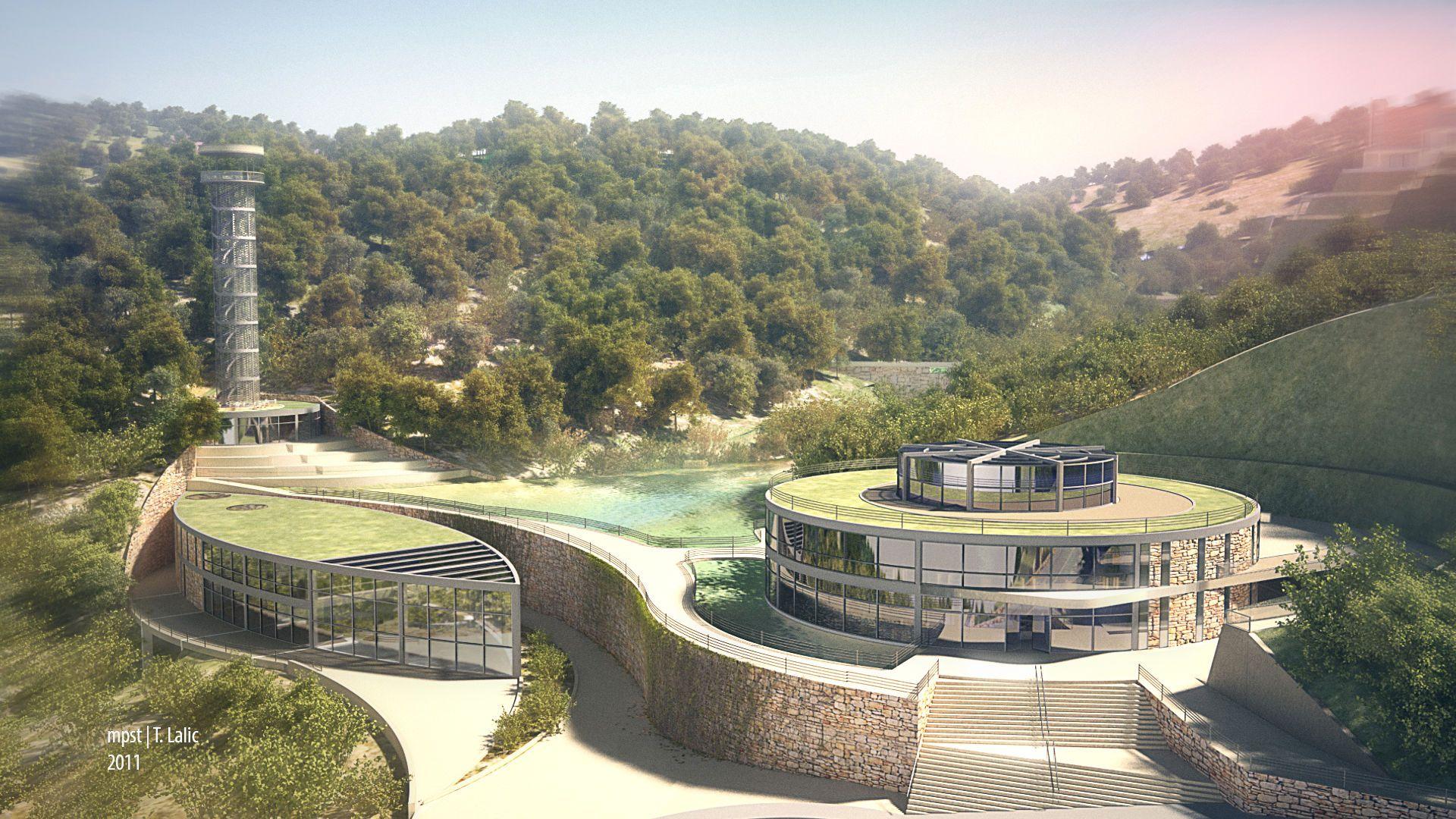architectural terrain rendering in Google