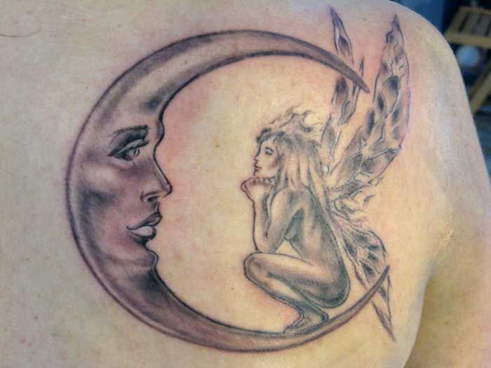 101 Most Popular Tattoo Designs And Their Meanings 2020 Moon Tattoo Designs Elf Tattoo Fairy Tattoo