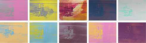Andy Warhol, Electric Chair