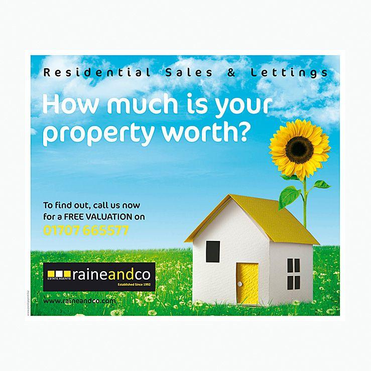 Sunflower House leaflet