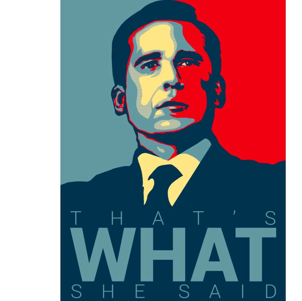 Michael Scott S Funny Motivational Poster That S What Print 12 X 18 Inch Rolled Stop The Boring Michael Scott The Office Office Jokes Michael Scott Quotes
