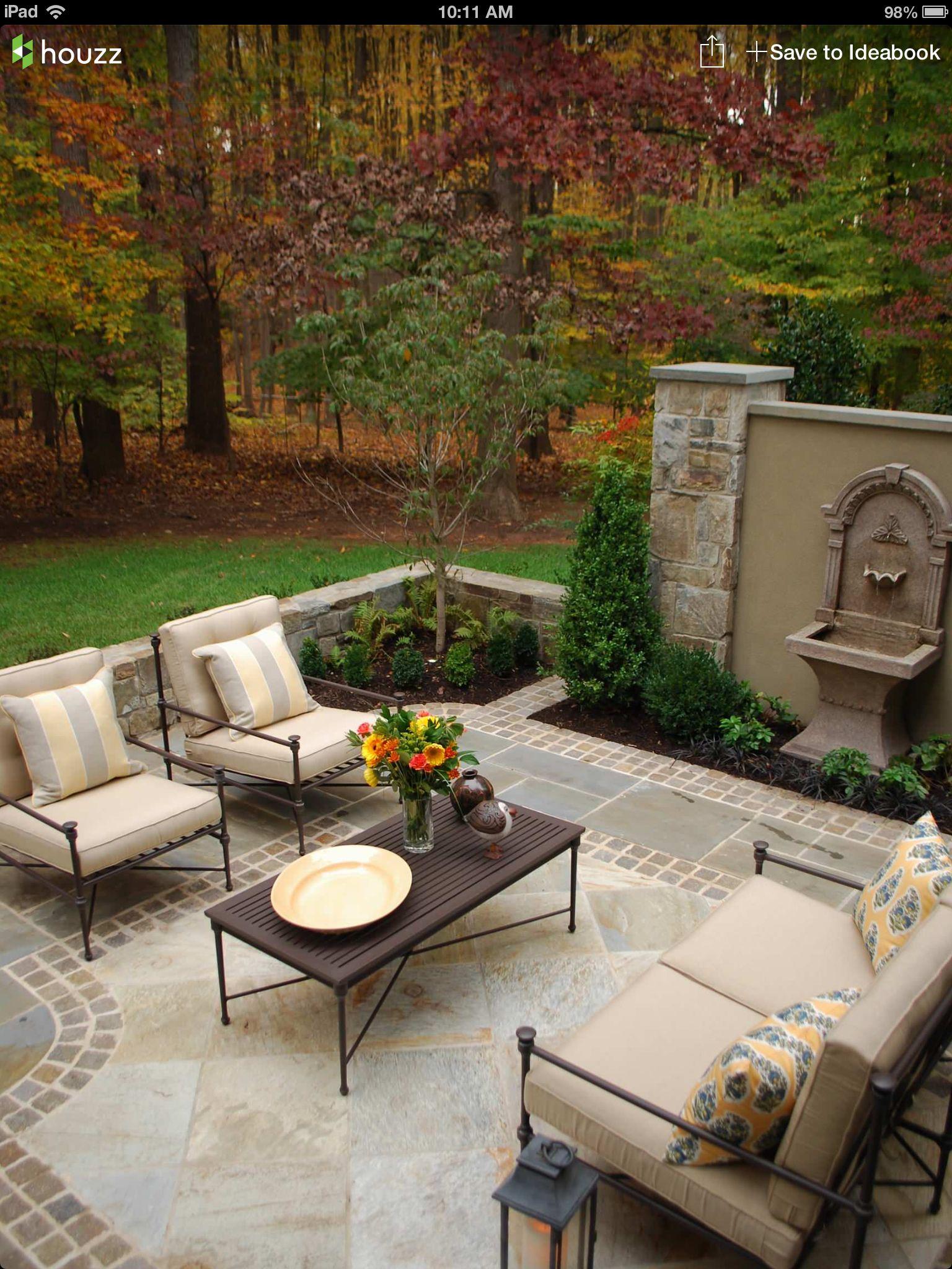 Calming aurosalas de jard n pinterest terrazas - Decoraciones de terrazas ...