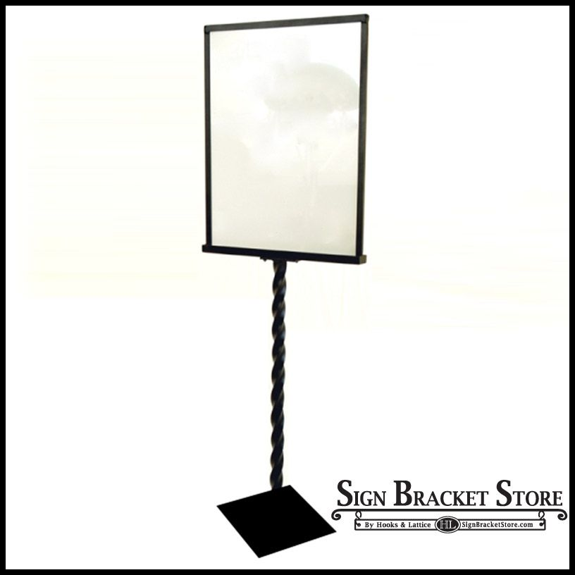 Decorative Sign Holder With A Twist Retail Ideas For The Store