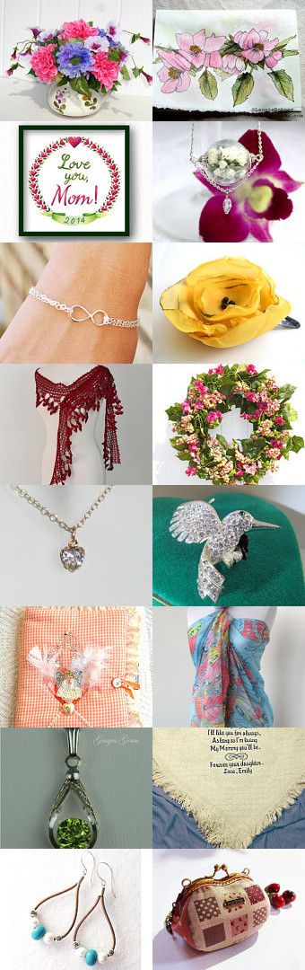 Happy Mother's Day by thegifthutch on Etsy--Pinned with TreasuryPin.com
