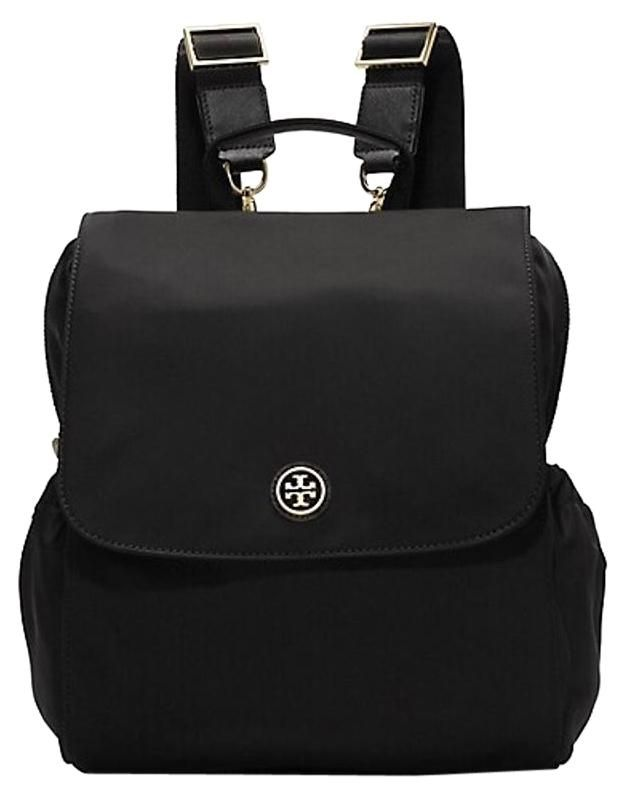 40c13e5916 Tory Burch Travel Nylon Backpack Black Diaper Bag. You'll be a hot mamma  with this Tory Burch Travel Nylon Backpack Black Diaper Bag! Tradesy moms  voted ...