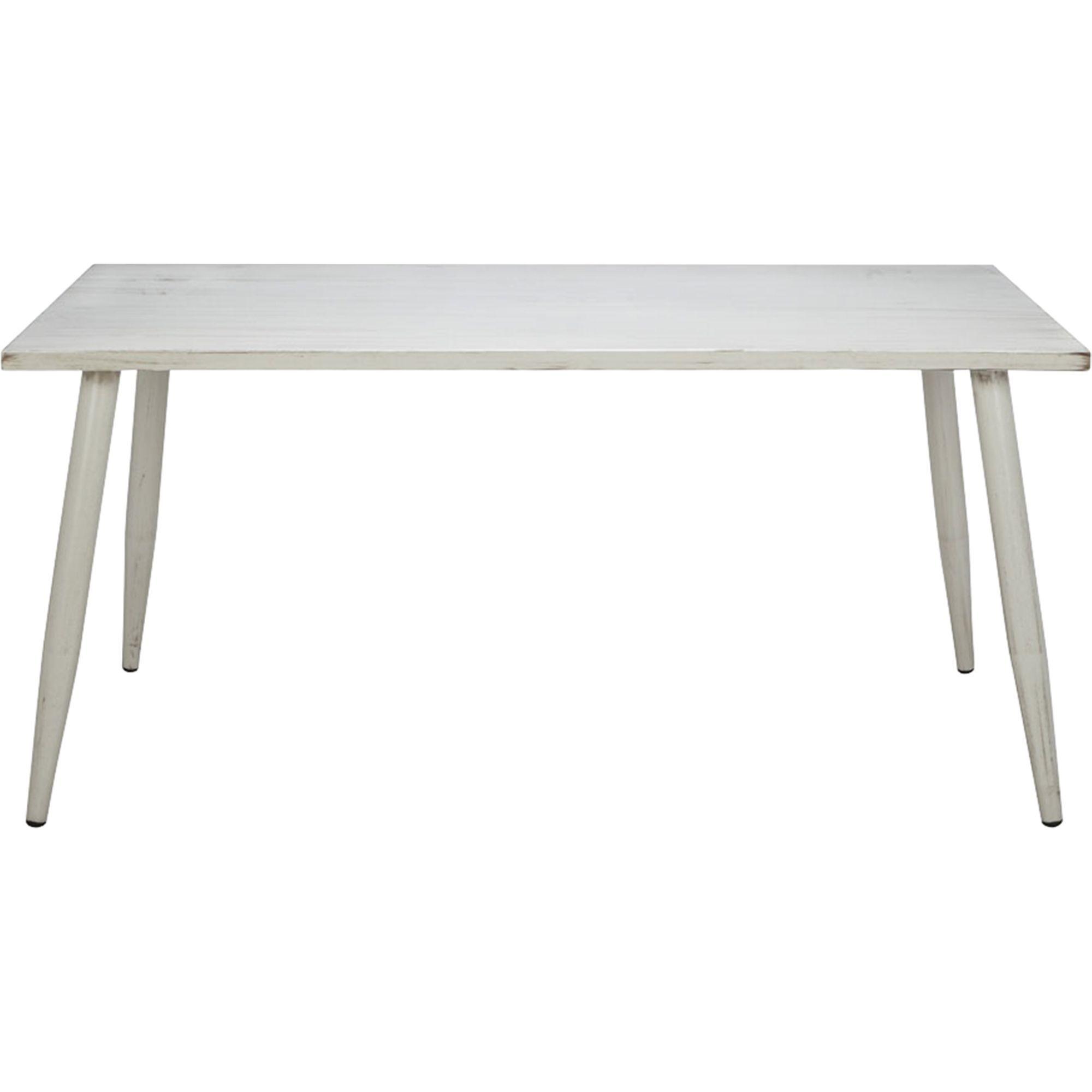 alinea : audrey table de jardin écrue en aluminium (6 places ...