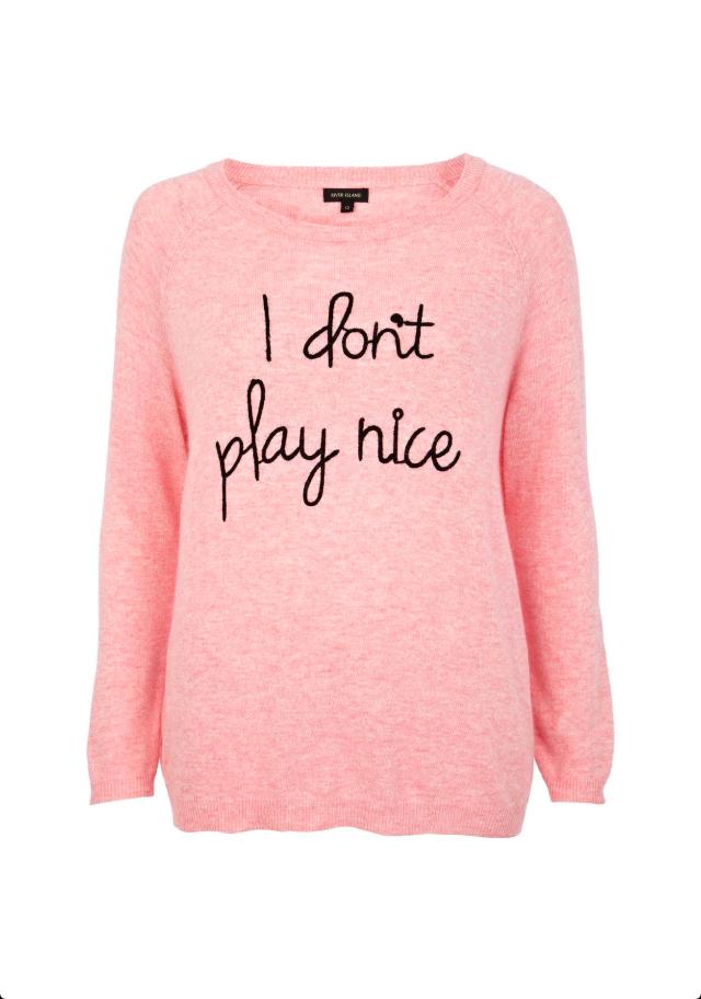 Pink sweater @Karla Bender Island | Fashion! | Jumper