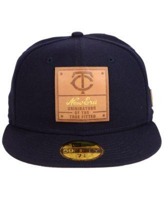 huge discount 7d187 d15c3 New Era Minnesota Twins Vintage Team Color 59FIFTY Fitted Cap - Blue 7 3 4