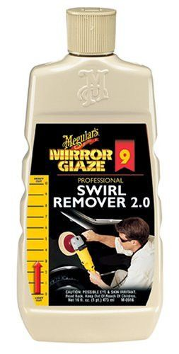 Automotive Detailer Meguiars M0916 Meguiars Mirror Glaze Swirls