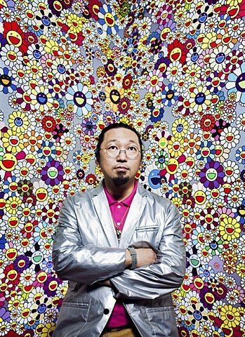 "Favorite contemporary Japanese artist: Takeshi Murakami and ""superflat"""