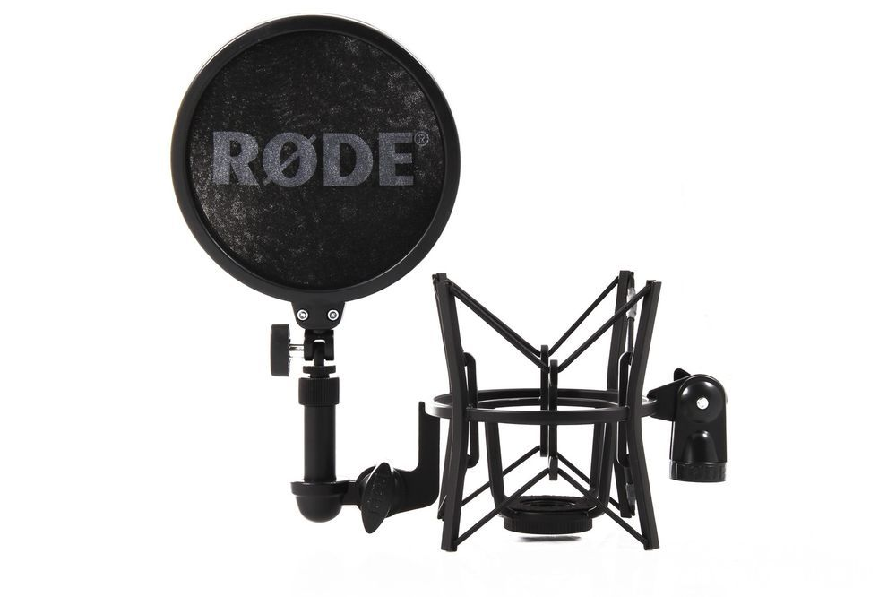 Rode SM6 Professional Shock Mount with Integrated Pop Shield New