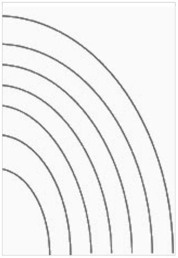 Gezeichnete Rahmen Oval Schablone Tapete Upcycling Diy Edding Marker