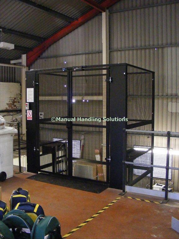 Prestwick Hospital Mezzanine Goods Lift 500kg For a quotation - website quotation