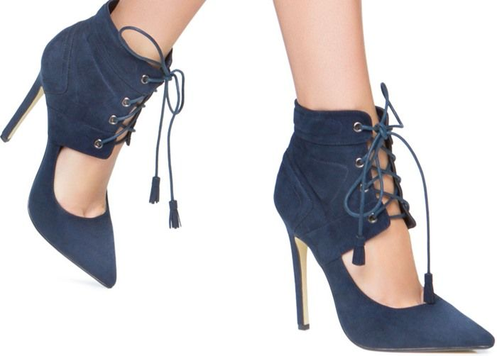Sexy and Versatile: Lace-Up Corset Design Booties