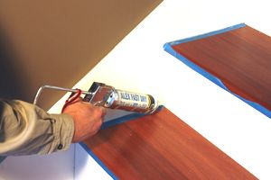 Best Caulk All Seams On The Risers And Skirt Boards Remodel With Prefinished Stair Treads Consider 640 x 480