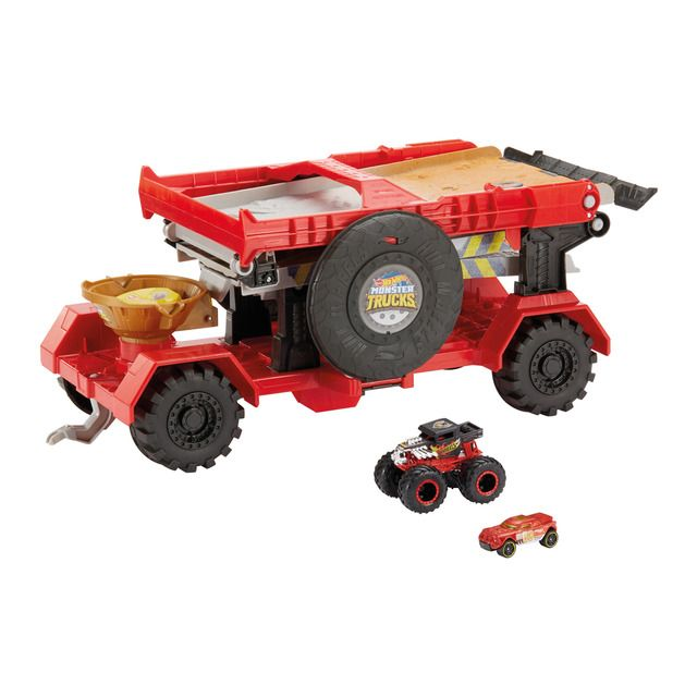 Hot Wheels Monster Trucks Carreras Con Cuesta Abajo Pistas De Coches De Juguetes Monster Truck Hot Wheels Truck