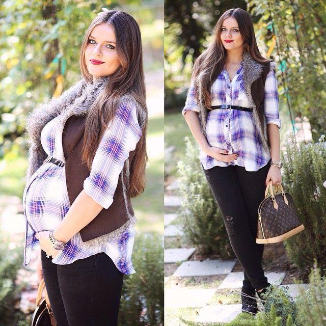 Fabelhaft mit Push und allem  Schwangere Kleidung    Schwanger