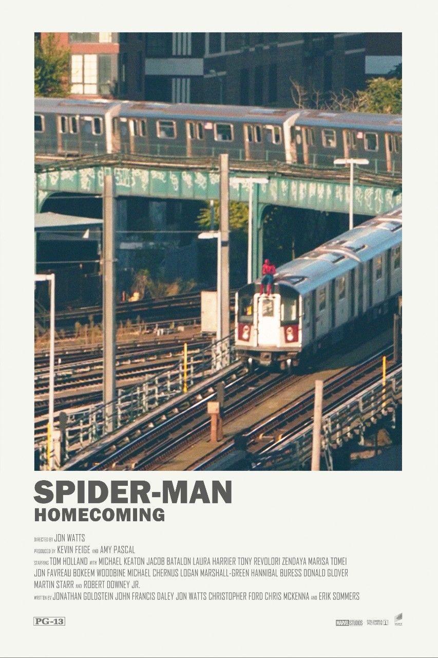 Spider-Man: Homecoming (2017) #filmposterdesign