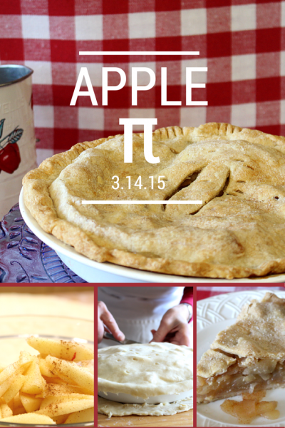 Happy Pi Day! Why not celebrate with some Apple Pie!