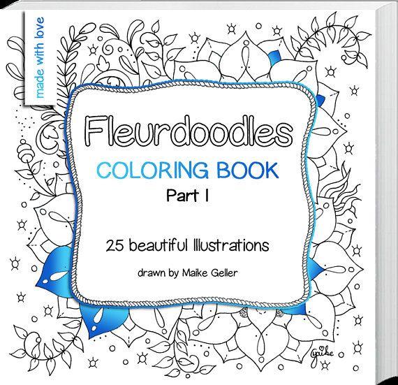 Malbuch Sofortiger Download 25 Liebevoll Gezeichnete Illustrationen