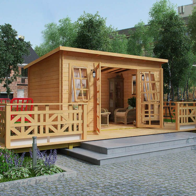 BillyOh Skinner Log Cabin Summerhouse | Traditional Single Room Log ...