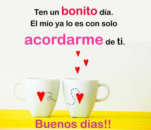 Despertar Con Mucho Amor Hoymusicagratis Com Buenos Dias Love