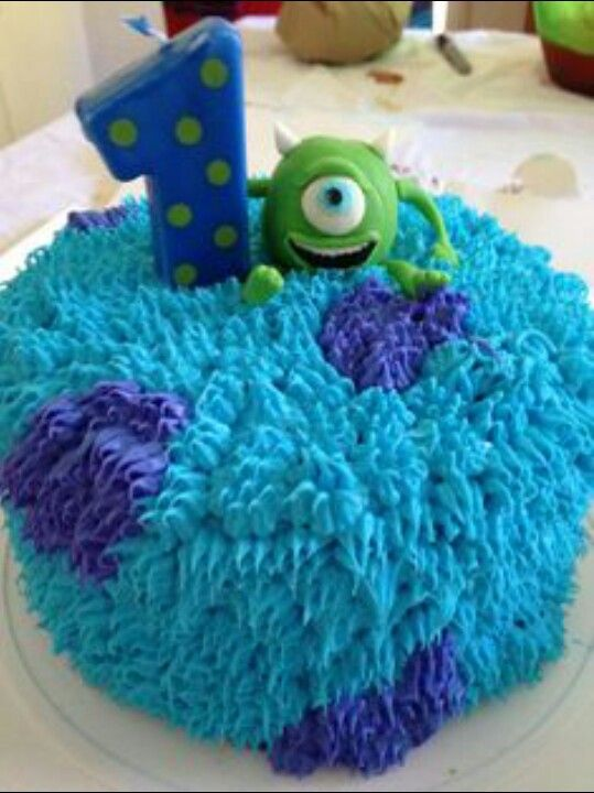 Pin By Lany Rodriguez On Monsters Inc Monster Birthday Parties Monster Inc Cakes Monster Inc Birthday