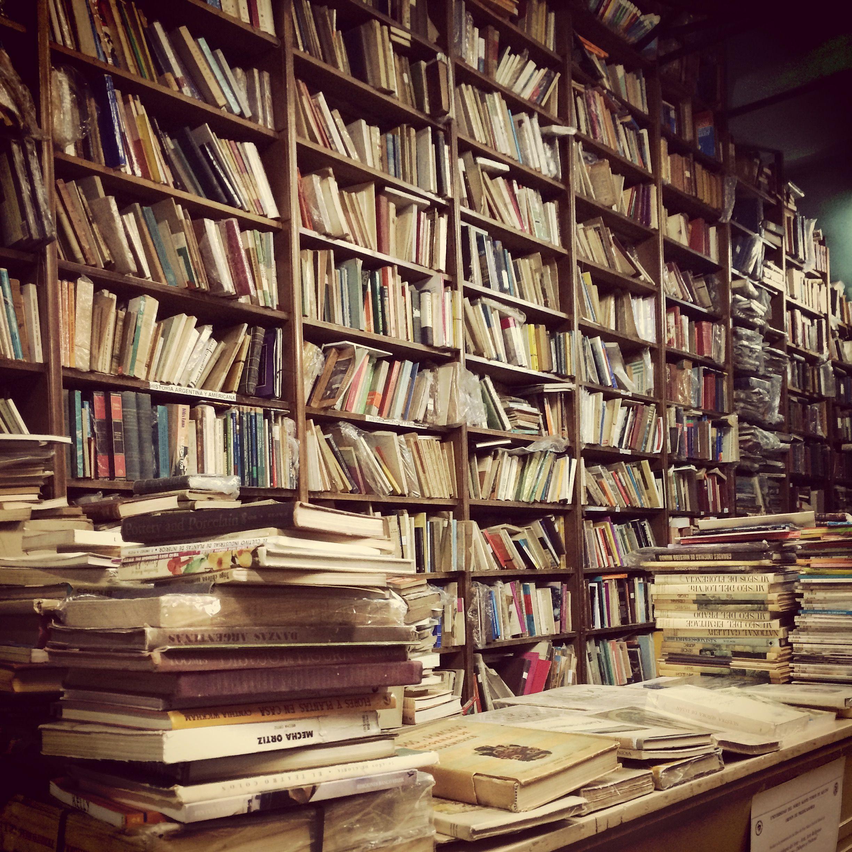Librería en Av. Santa Fe, Buenos Aires.
