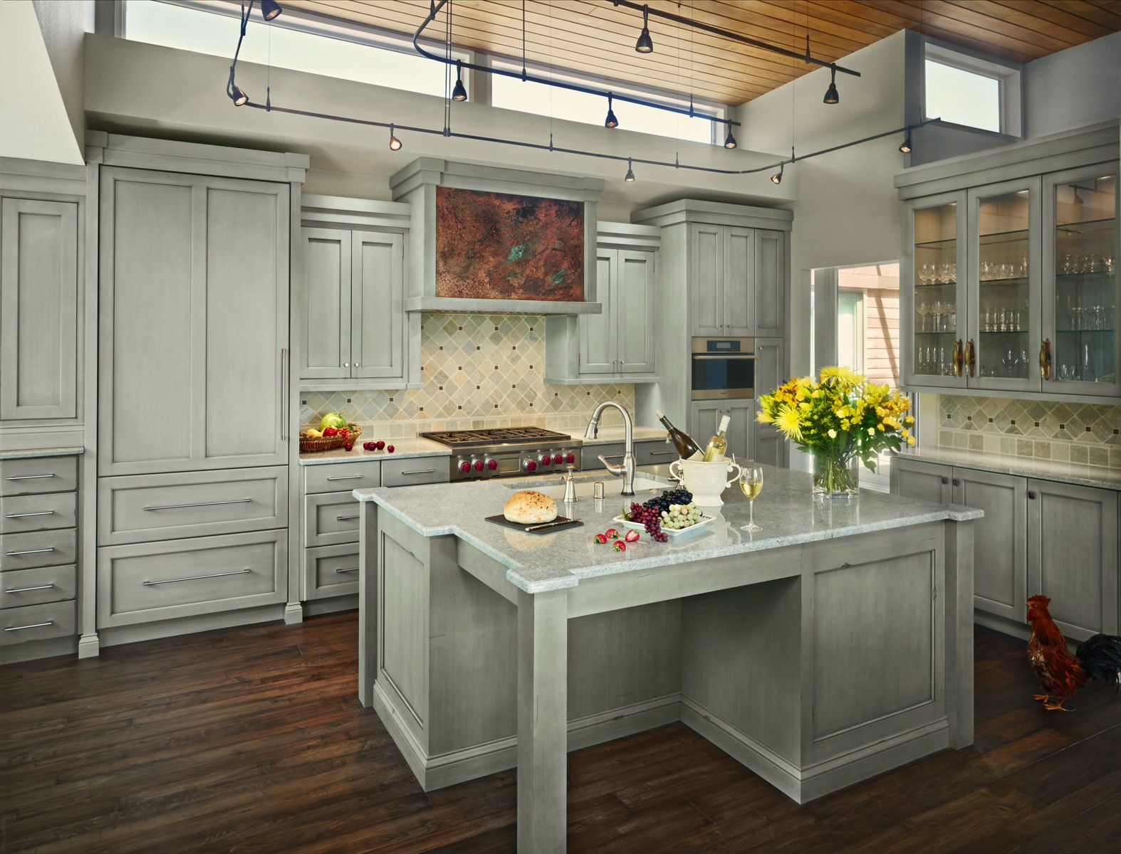 Awesome Simple And Transitional In Style, This Colorado Springs Kitchen Creates A  Peace And Harmony.