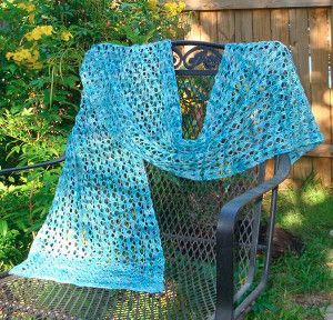 Dancing Leaves Lace Wrap
