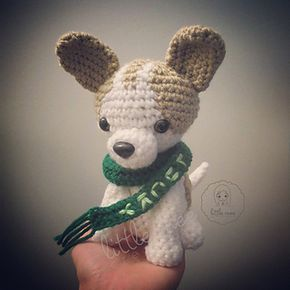 Lucky, the Chihuahua Dog - free crochet pattern