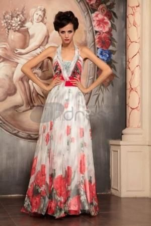 Floral elegant star code Slim evening dress by cookshengtong