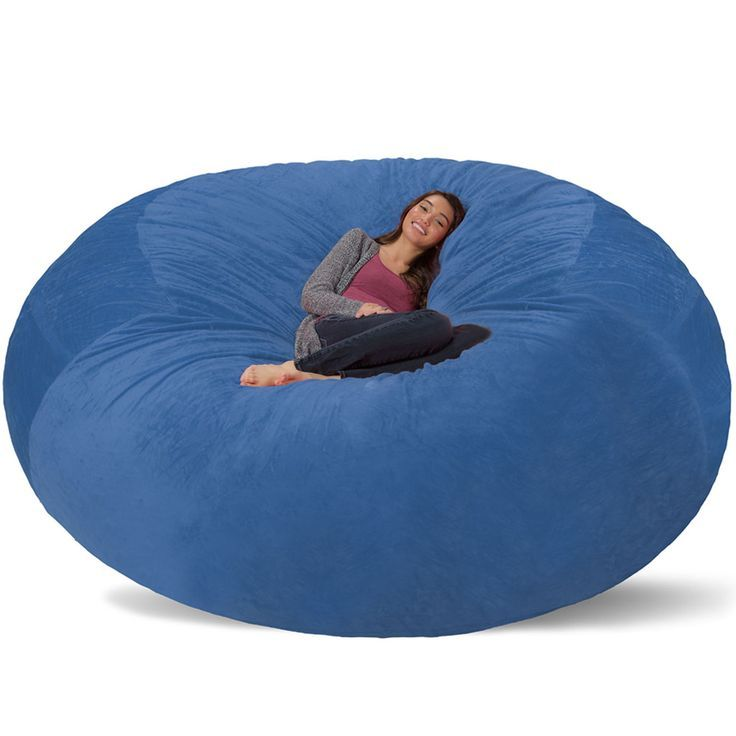 8 Ft Giant Bean Bag Chair Iu0027m Seriously Considering This