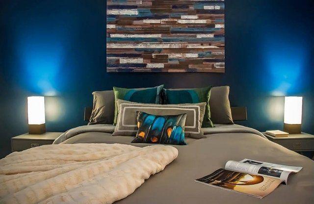 Couleur de chambre 100 id es de bonnes nuits de sommeil tv walls bedrooms and walls for Chambre adulte coloree